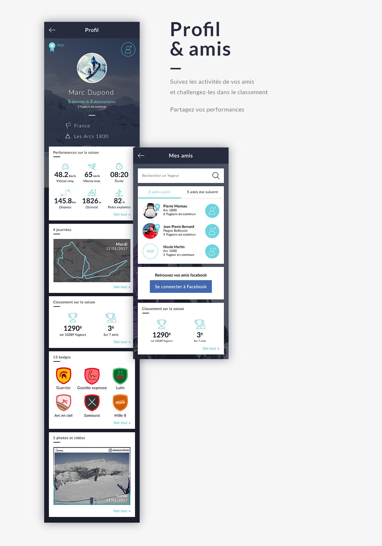 app paradiski profil