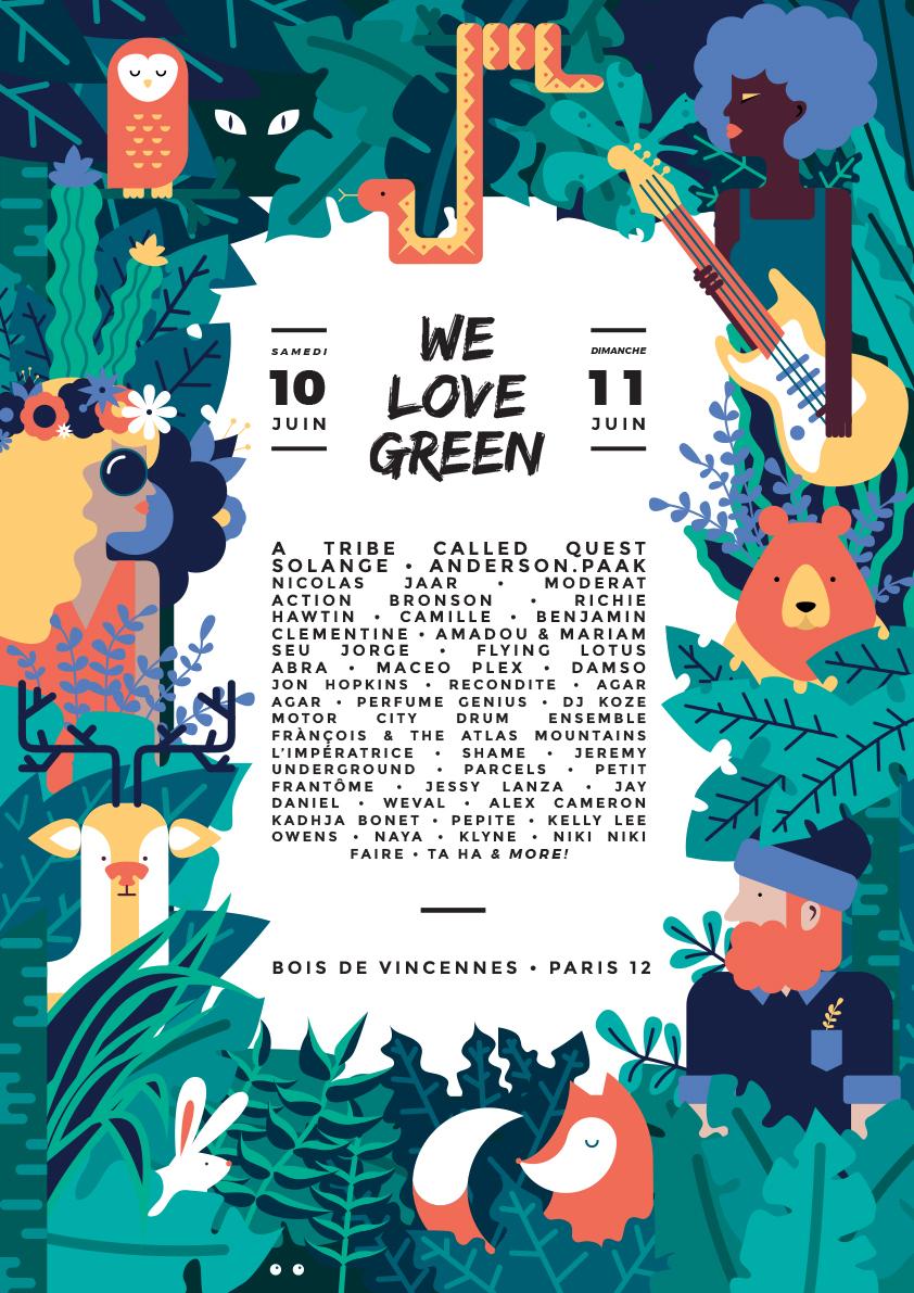 welovegreen poster